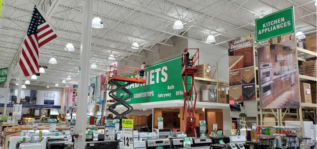 Large Sign Application - A to Z Repair Services